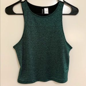 Gleaming Green Crop Top 💚